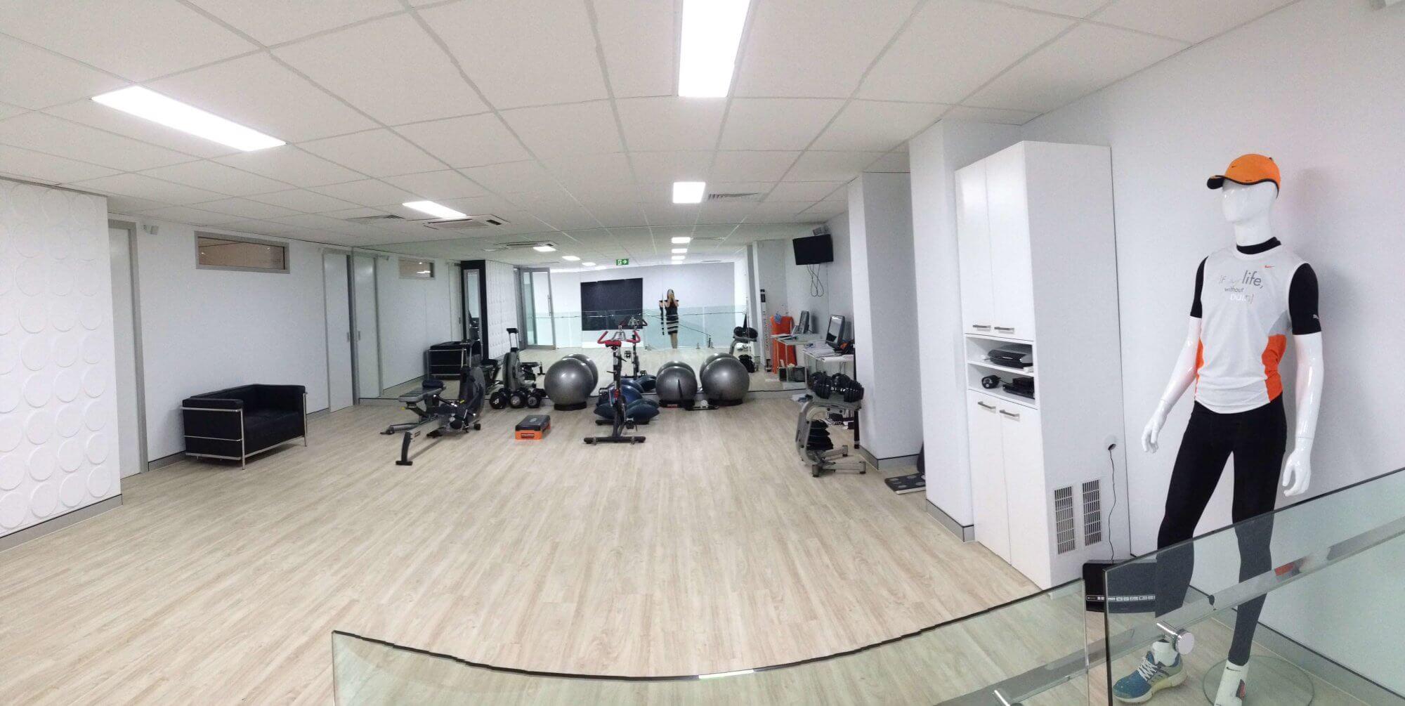 Pilates professional space
