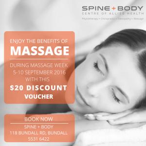 massage week