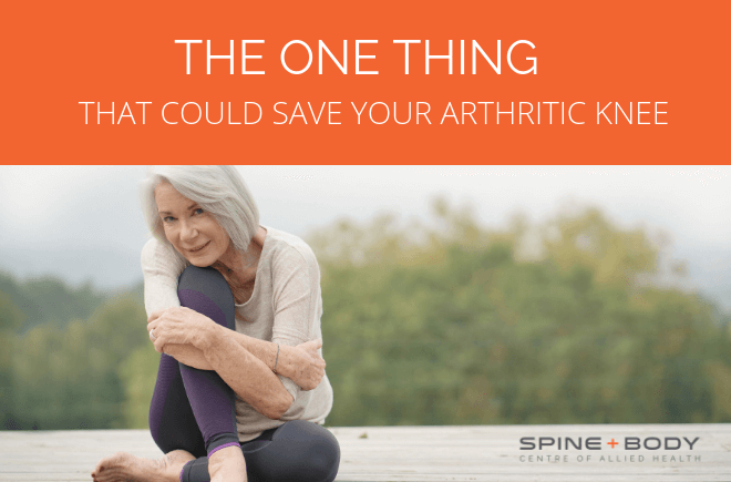 Arthritic knee
