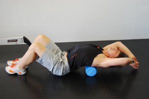 foam roller for chest pain